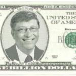 Bill Gates on a Bill